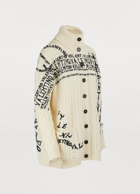 VALENTINOEmbroidered cardigan