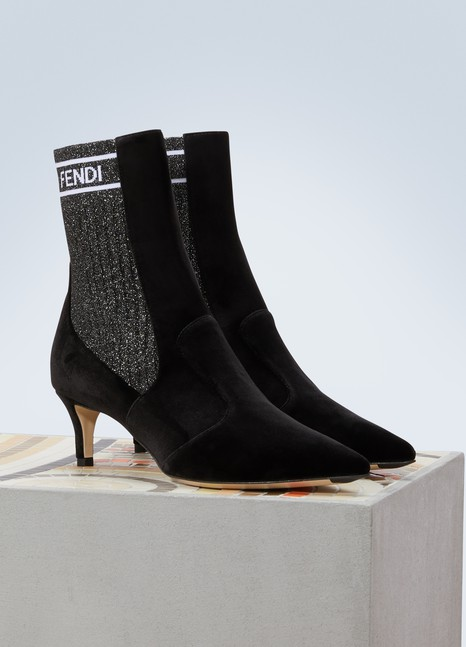 FendiRockoko ankle boots