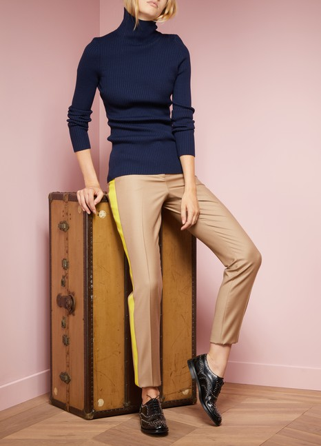 Victoria BeckhamRibbed Turtleneck Sweater