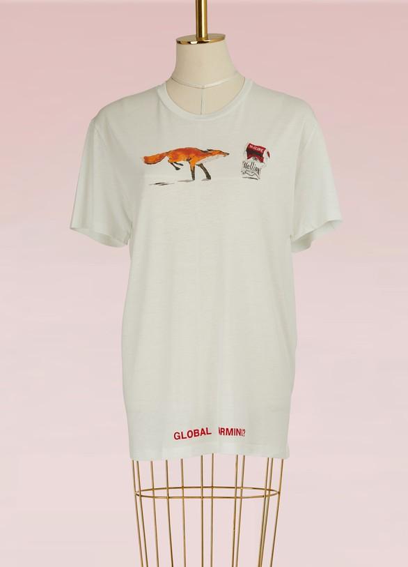 OFF WHITET-shirt Fox