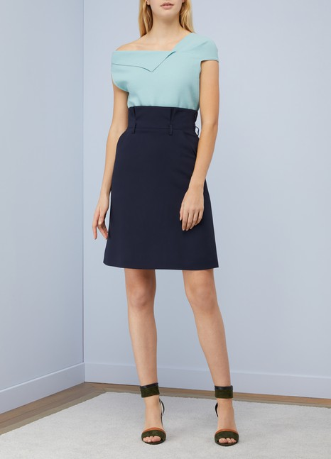 Roland Mouret Raywell asymmetrical top