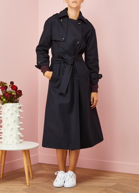 Carolina RitzlerManteau Achile en laine et cachemire
