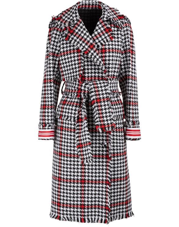 MSGMTweed trench coat
