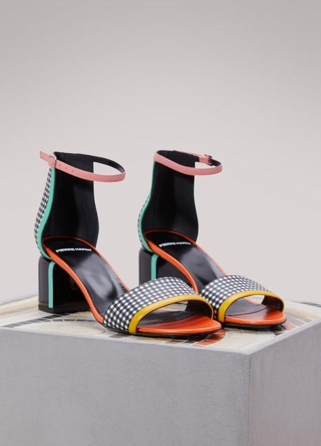 Pierre HardyRally leather sandals