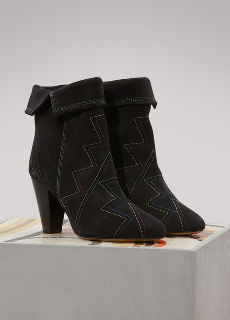 Isabel Marant Bottines Darilay en cuir