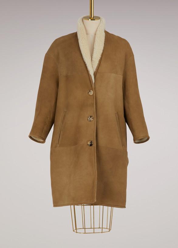 Isabel Marant EtoileLamb Alan coat