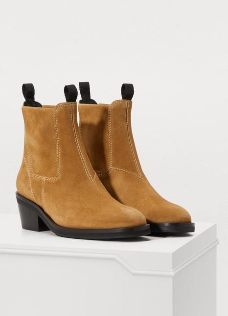 63b473571d8 Women's Suede ankle boots | Acne Studios | 24 Sèvres