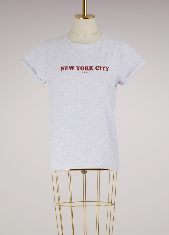 A.P.C. T-shirt New York City en coton