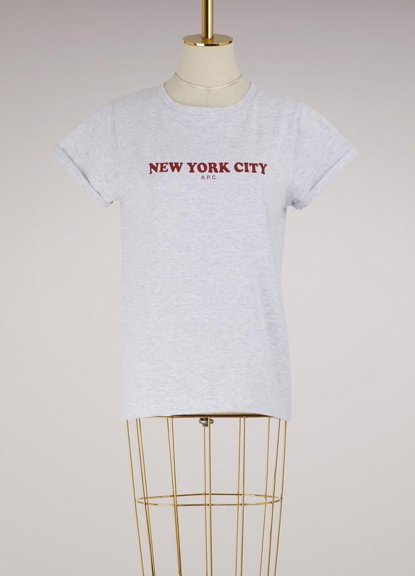 A.P.C.T-shirt New York City en coton