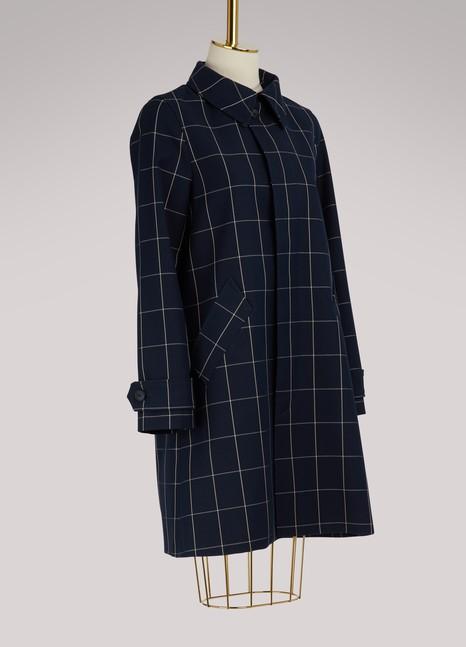 A.P.C.Manteau de pluie Dinard en coton