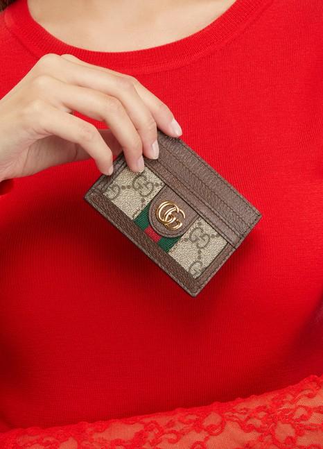 5ece7f0b64d9 Women's Ophidia card holder | Gucci | 24S | 24S