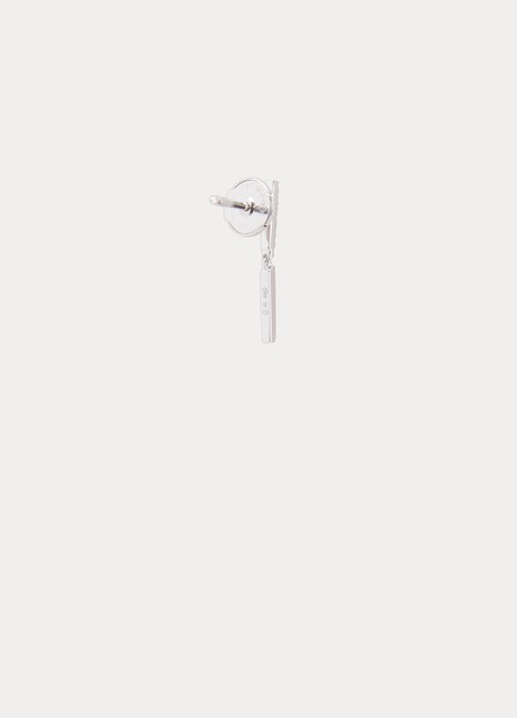 Ofée Brindilles 2 module single earring with diamonds
