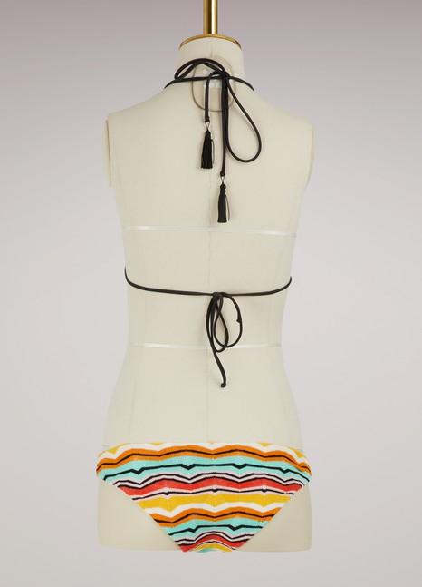 Missoni Bikini en tricot 2018 Nouvelle Meilleur Magasin Pour Obtenir La Vente En Ligne Dédouanement Nouvelle Arrivée J4xzU3xBOb