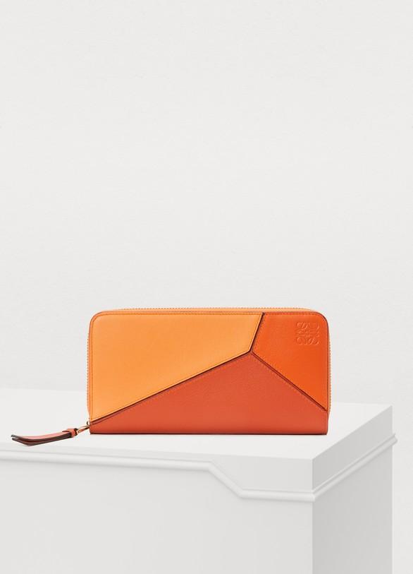 LoewePuzzle zip around wallet
