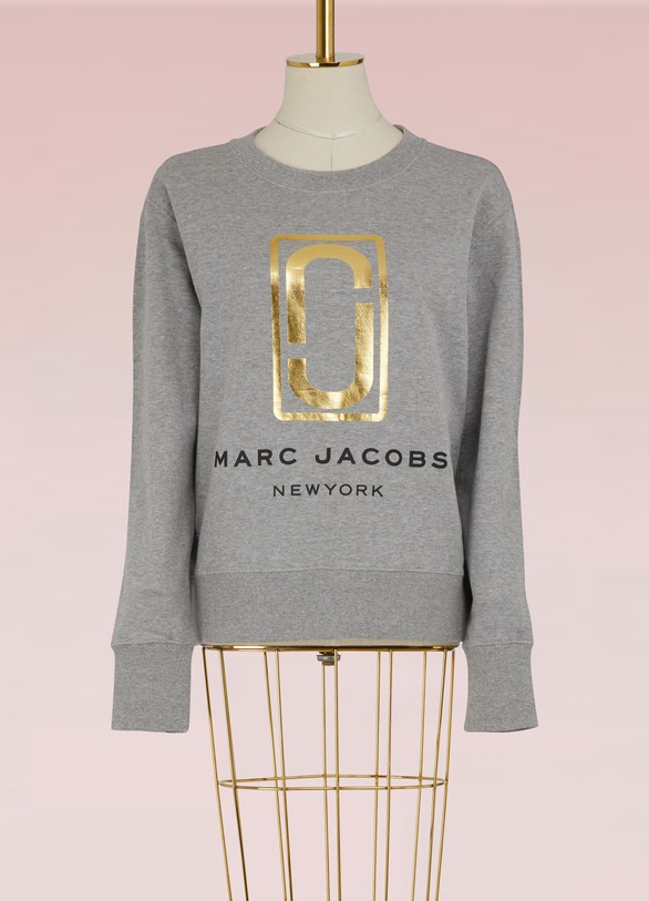 Marc Jacobs Cotton logo sweatshirt