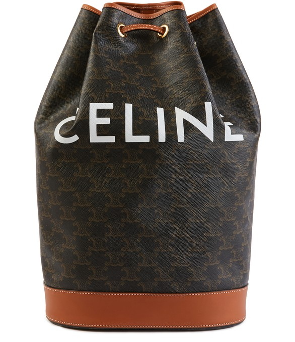 CELINESailor medium Triomphe canvas bag