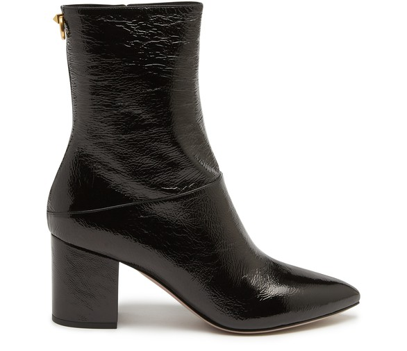 Ringstud Valentino Garavani Ankle Boots by Valentino