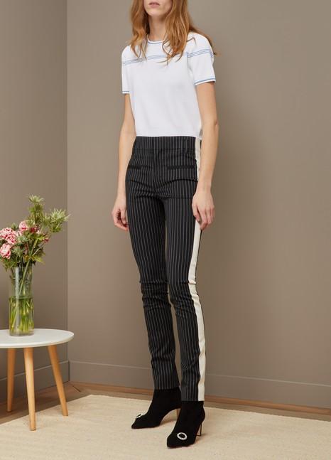 Haider Ackermannpin striped slim trousers