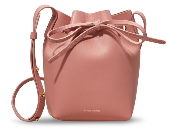 MANSUR GAVRIELMini mini bucket bag