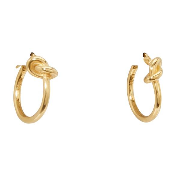 CELINECréoles Knot petit modèle en laiton doré