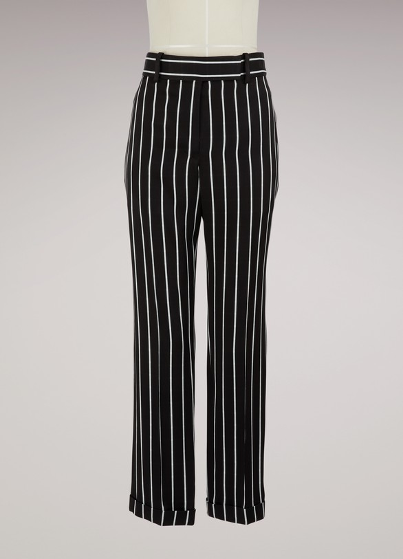 Haider Ackermann Striped trousers