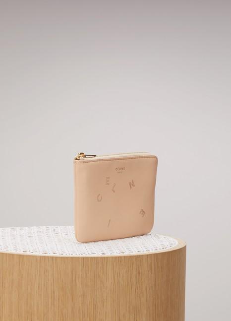 CélinePorte-monnaie et carte en cuir