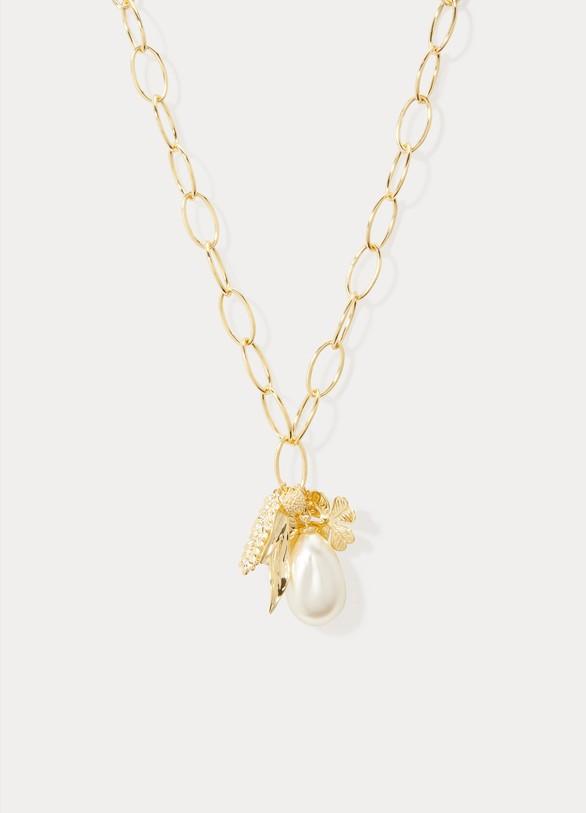 Aurélie BidermannCollier Grigri perles et charms