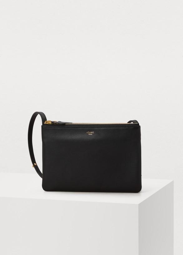 CélineTrio bag in smooth lambskin