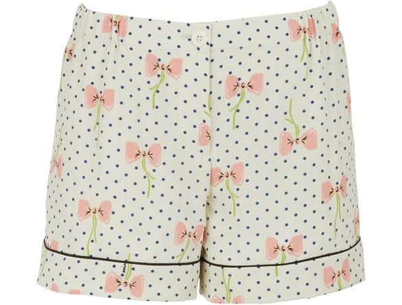 MIU MIUPijama silk shorts