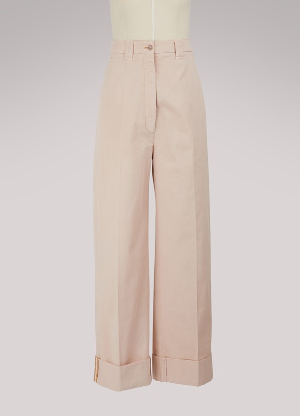 Acne Studios Madya cotton pants