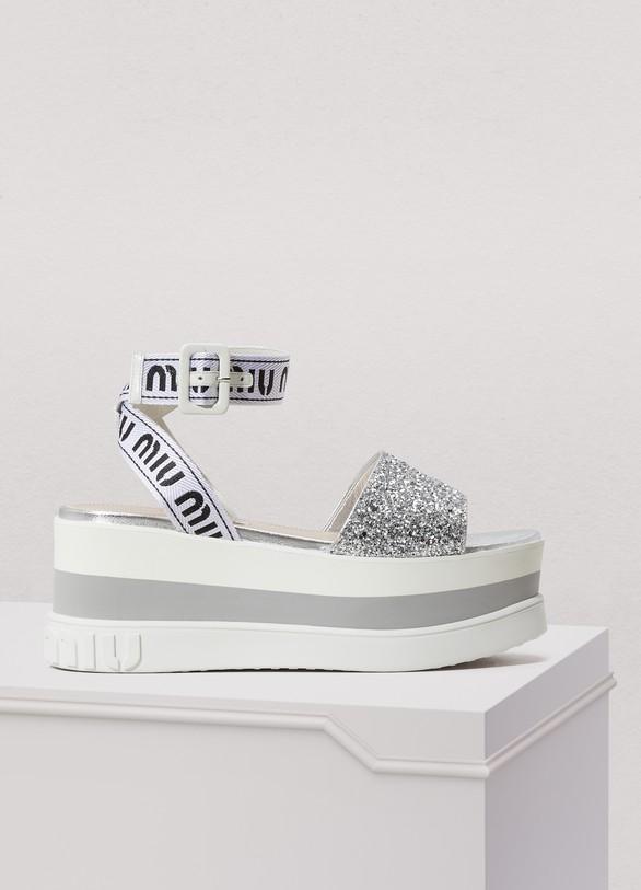 Miu MiuPlatform sandals