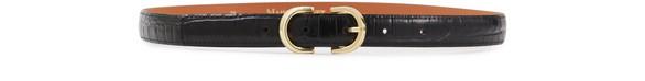 MAISON BOINETCrocodile print belt