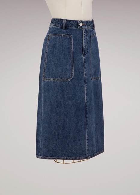 A.P.C.Cotton Nevada skirt