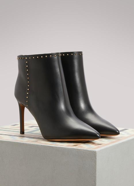 ValentinoValentino Gavarani studded Ankle Boots