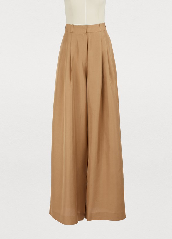 Zimmermann Silk wide leg pants