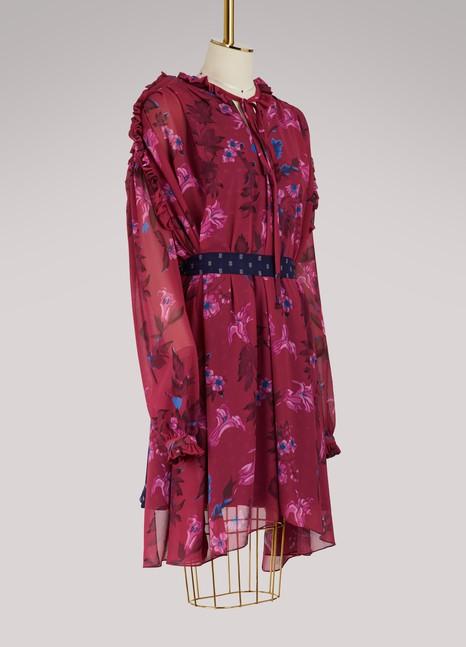 BalenciagaShort-sleeved short dress