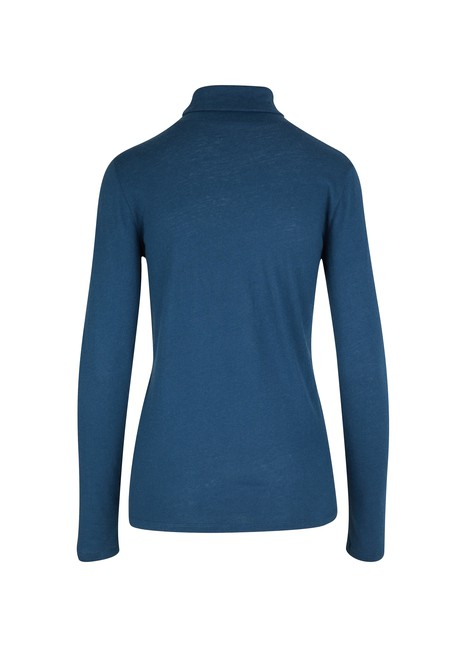 MAJESTIC FILATURES Long-sleeved turtleneck top