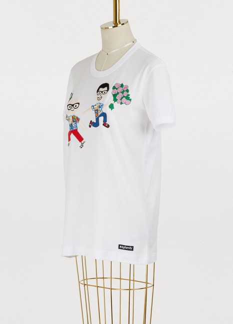 Dolce & GabbanaEmbroidered T-shirt