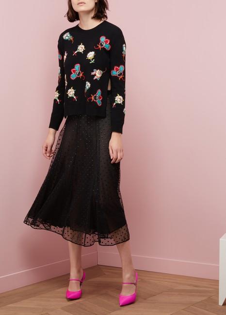 ValentinoFlower Pop knitwear