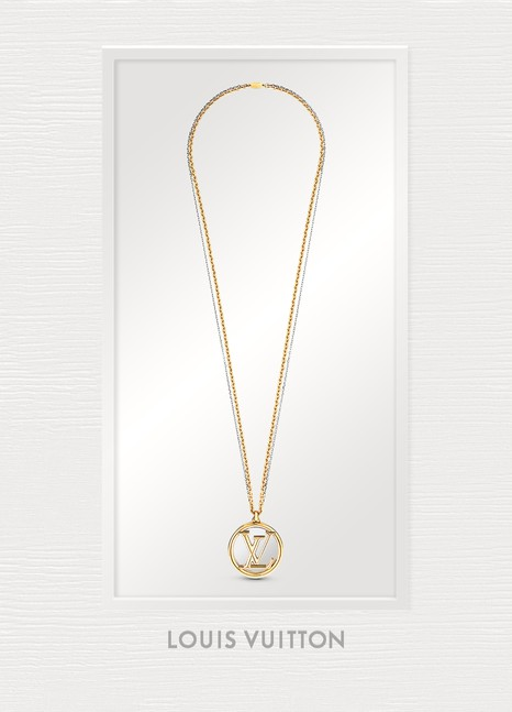Louis Vuitton Louise Long Necklace
