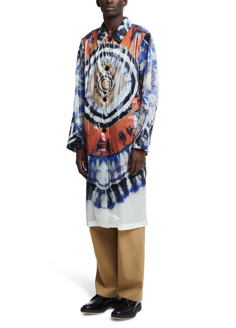 DRIES VAN NOTEN Tie-Dye print coat