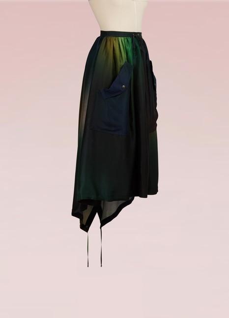 KENZOJupe avec poches en soie