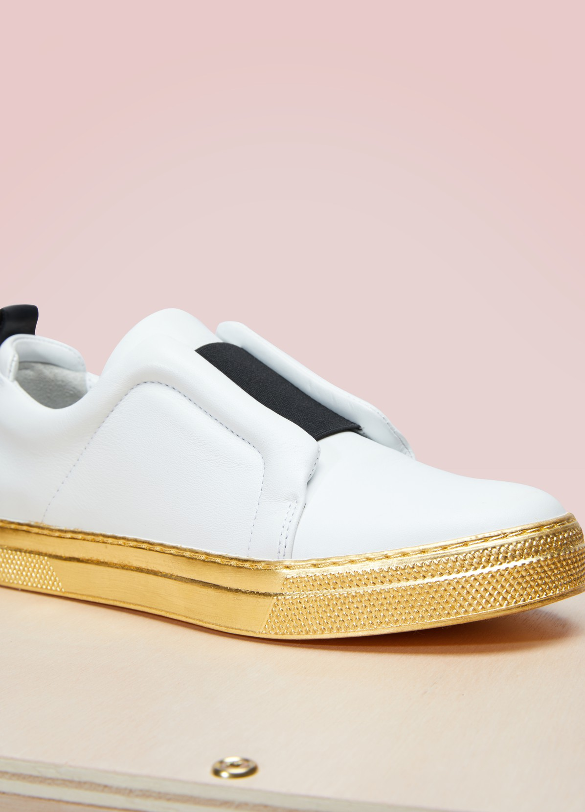 PIERRE HARDY Sneakers en or Slidor