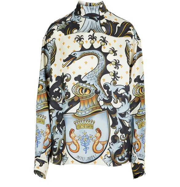 MIU MIU Silk shirt
