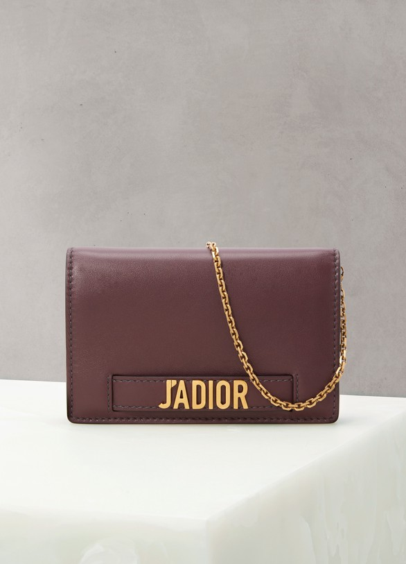 "Dior Portefeuille ""Wallet on chain"" J'Adior"