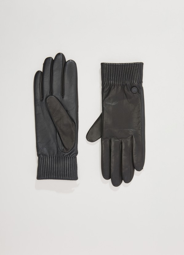 7fa179052264 ... Canada Goose Leather Rib Glove ...
