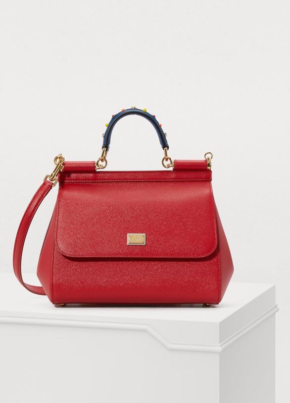 Dolce & GabbanaSicily MM shoulder bag