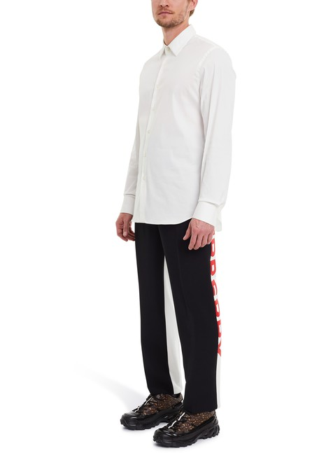 BURBERRYCasual mohair and wool trousers