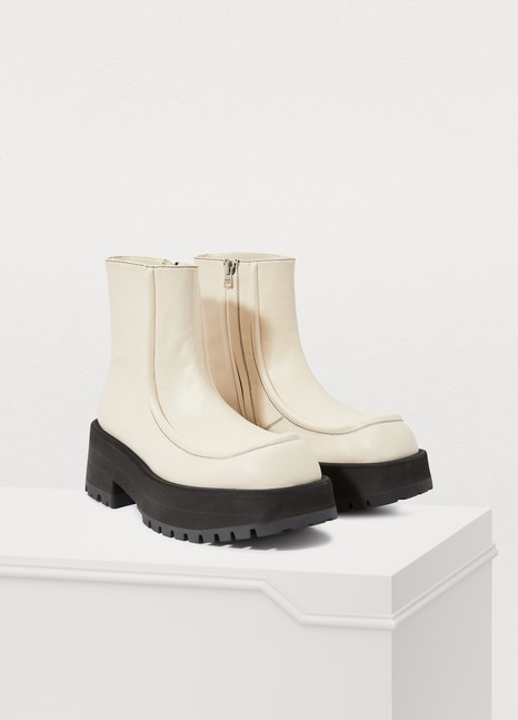 MARNI Square ankle boots