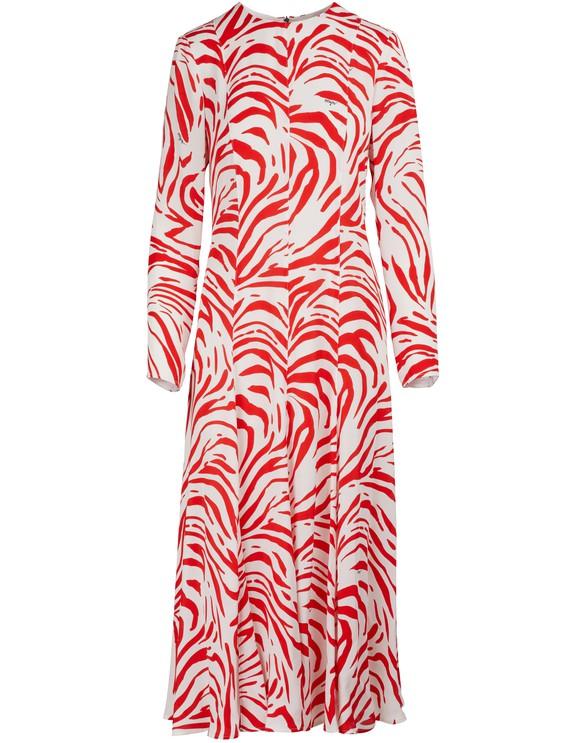 MSGMZebra-printed dress